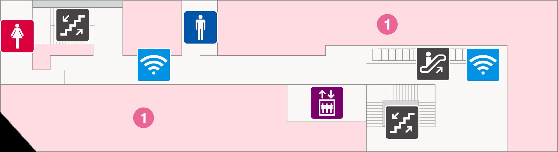フェスタビル マップ2F