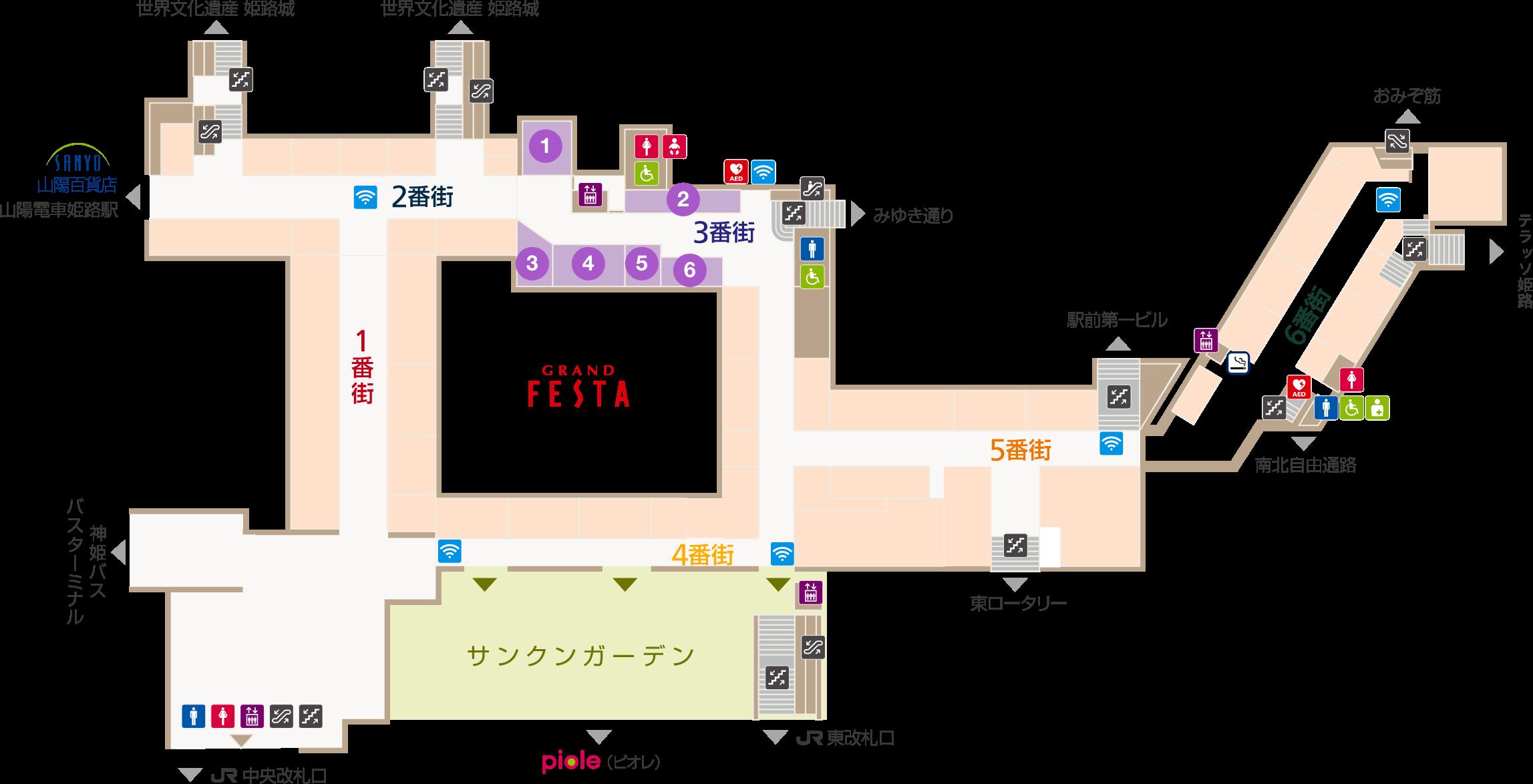 フェスタビル マップ3F