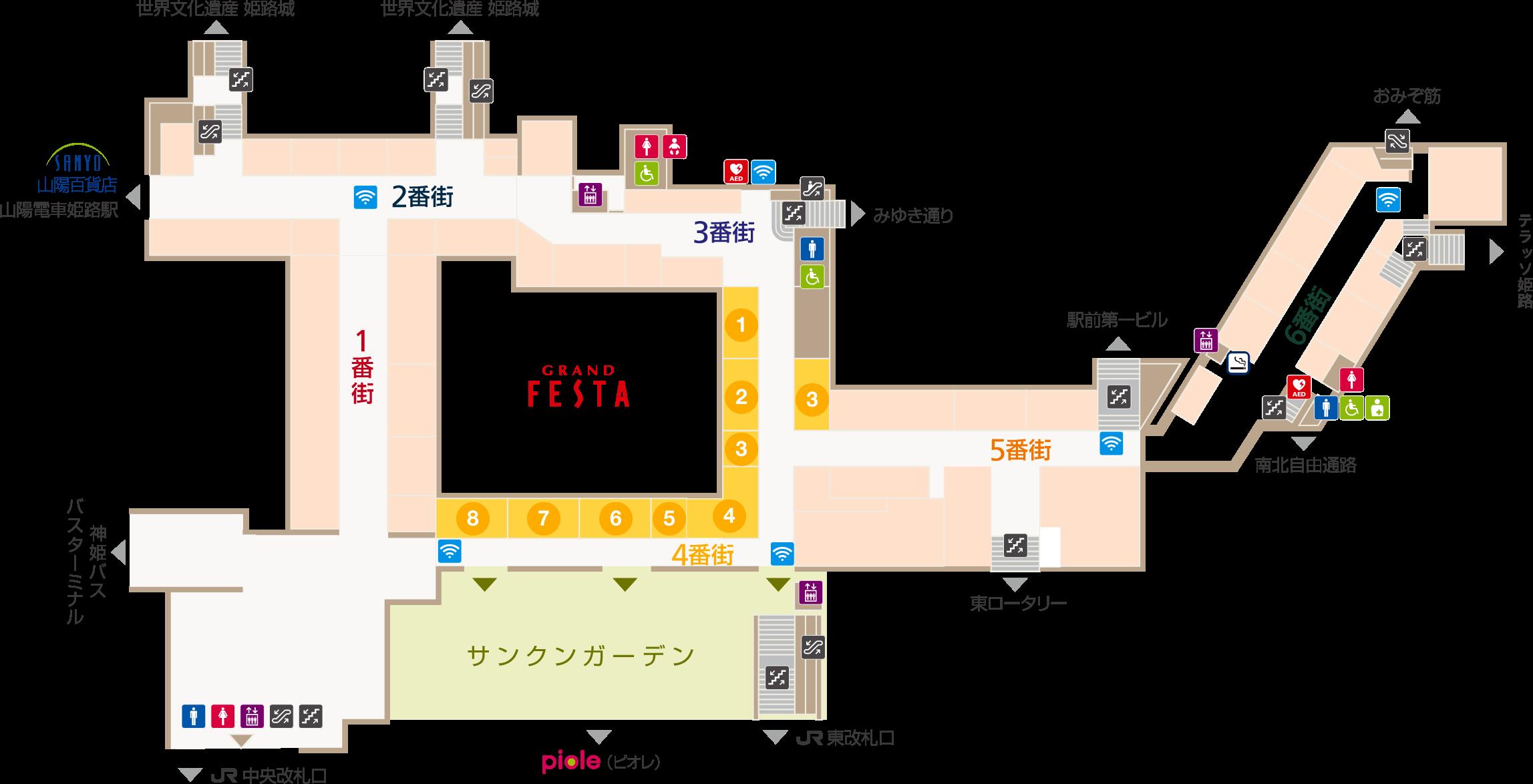 フェスタビル マップ4F