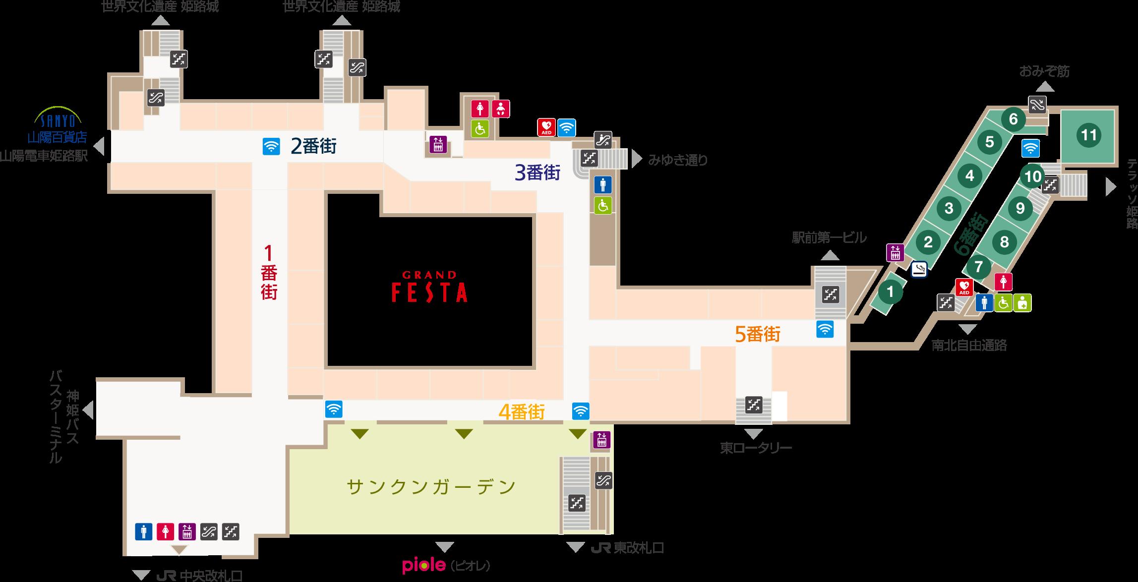 フェスタビル マップ6F
